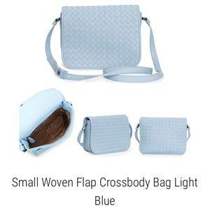 f7aa2ca8baf26 Bottega Veneta Bags - NWOT Bottega Veneta Small Woven Flap Crossbody Bag